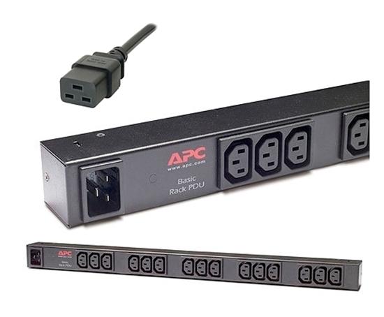Imagem de Rack PDU, Basic, 1U, 16A, 208/230V, (12)C13