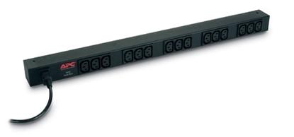 Imagem de Rack PDU,Basic,Zero U,10A,230V, (15)C13