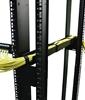 Imagem de Ajuste de 18 a 30 polegadas do canal lateral do organizador de cabos horizontal