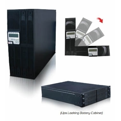 Imagem de UPS INFORM, MULTIPOWER, ON-LINE 10000VA (10kVA), RACK/TORRE