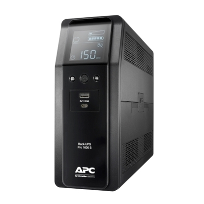 Imagem de Back UPS Pro BR 1600VA, Sinewave,8 Outlets, AVR, LCD interface BR1600SI
